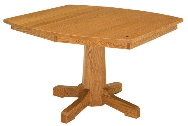 Pinnacle Single Pedestal Table