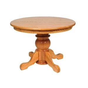 Pot Belly Single Pedestal Table