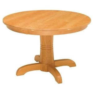 Regal Single Pedestal Table