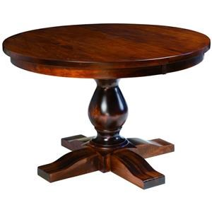 Salem Single Pedestal Table