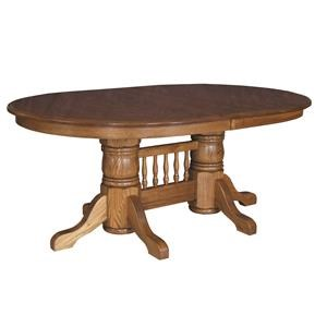 Standard Double Pedestal Table