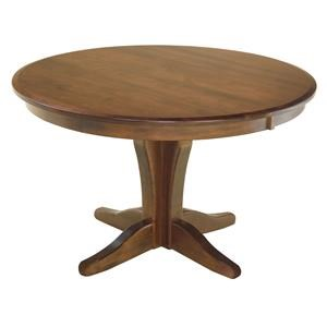 Vintage Single Pedestal Table