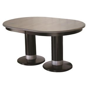 Alcoe Round Double Pedestal Table