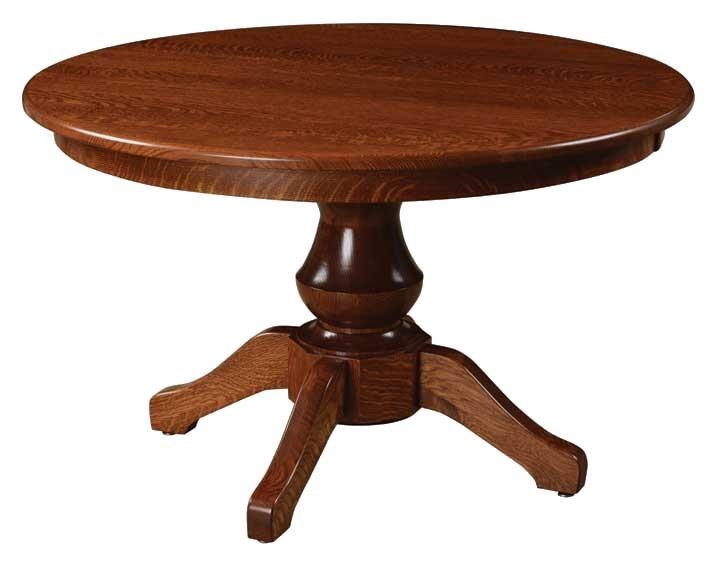 Woodstock Single Pedestal Table