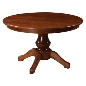 Woodstock Single Pedestal Table