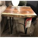 Wayside Custom Furniture Live Edge End Table - Item Number: WAY368