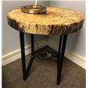 Wayside Custom Furniture Live Edge End Table - Item Number: WAY2125