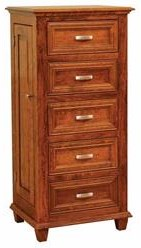 Wayside Custom Furniture Rosedale Jewelry Armoire