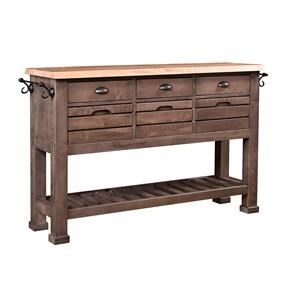Wayside Custom Furniture RuffSawn District Buffet
