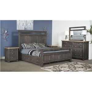 Wayside Custom Furniture Timber Bedroom Timber Bedroom Group