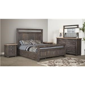Wayside Custom Furniture Timber Bedroom Group