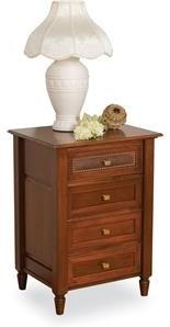Wayside Custom Furniture Stonebriar 4 Drawer Nightstand
