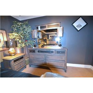 Wayside Custom Furniture Tribecca 411 7 Drawer Dresser