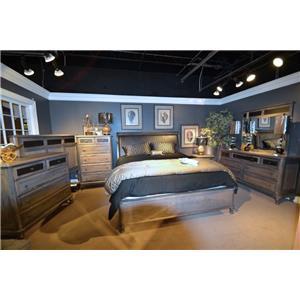 Wayside Custom Furniture Tribecca 411 Bedroom Group
