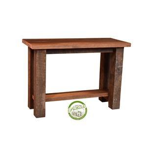 Reclaimed Barnwood Sofa Table