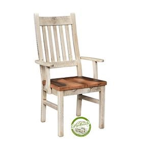 Reclaimed Barnwood Arm Chair