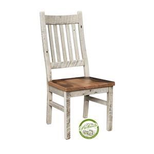 Reclaimed Barnwood Side Chair