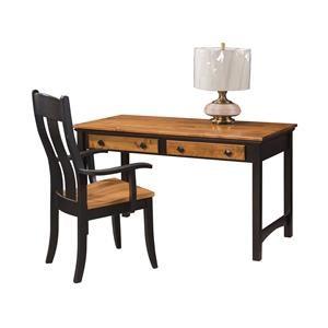 "Wayside Custom Furniture Buckeye 52"" Writing Desk"