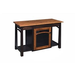 "Wayside Custom Furniture Madison Bow 46"" TV Stand"