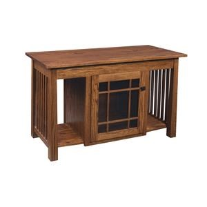 "Wayside Custom Furniture Madison Mission 46"" TV Stand"