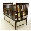 Wayside Furniture Dream On Me Crib Stationary Crib - Item Number: Espresso Stationary Crib