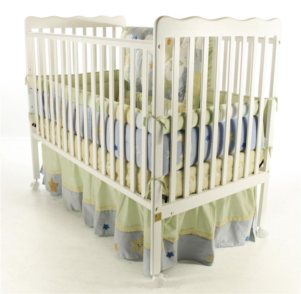 Wayside Furniture Dream On Me Crib Stationary Crib   Item Number: White  Stationary Crib