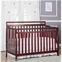 Wayside Furniture Dream on Me Cherry Crib - Item Number: DOM618-C