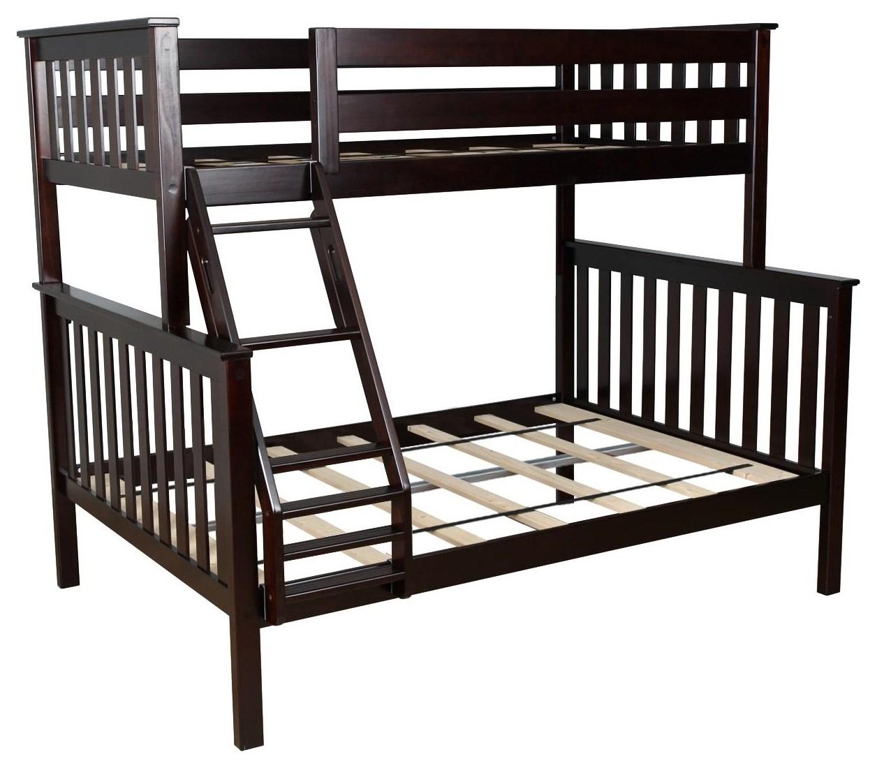 Wayside Furniture Kent By Maxwood Kent Espresso Bunk Bed Wayside Furniture Bunk Beds