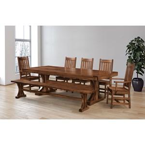 Customizable Dining Set w/ Bench