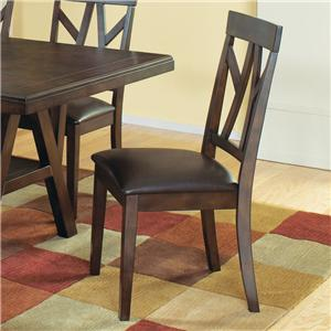 Welton USA Cantrell Side Chair w/ Padded Seat