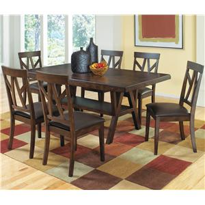 Welton USA Cantrell 7 Piece Dining Set