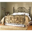 Wesley Allen Aberdeen King Aberdeen Metal Bed - Item Number: CB1036K