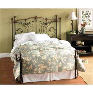 Morris Home Furnishings Iron Beds Queen Chelsea Iron Bed