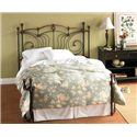 Wesley Allen Iron Beds Queen Chelsea Iron Bed - Item Number: 2T