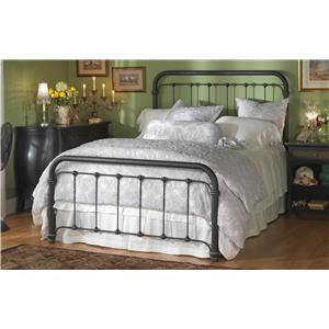 Morris Home Furnishings Iron Beds Queen Braden Bed