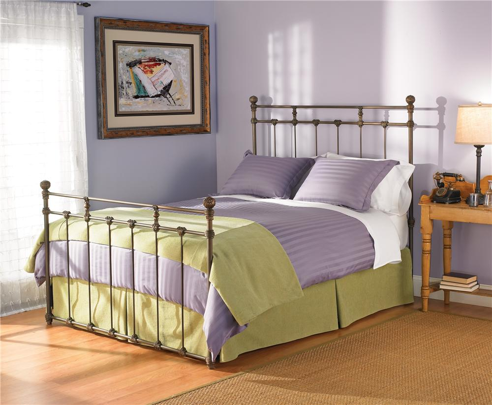 Wesley Allen Iron Beds Twin Sena Poster Bed - Item Number: CB1004