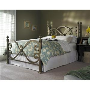 Wesley Allen Iron Beds Ambroise Poster Bed