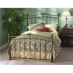 Morris Home Furnishings Iron Beds Merrick Poster Bed
