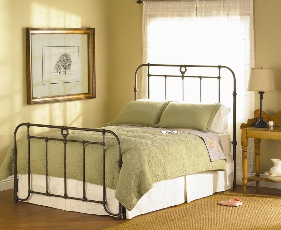 Wesley Allen Iron Beds Queen Wellington Iron Bed - Item Number: CB1057Q