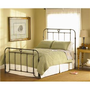 Queen Wellington Iron Bed