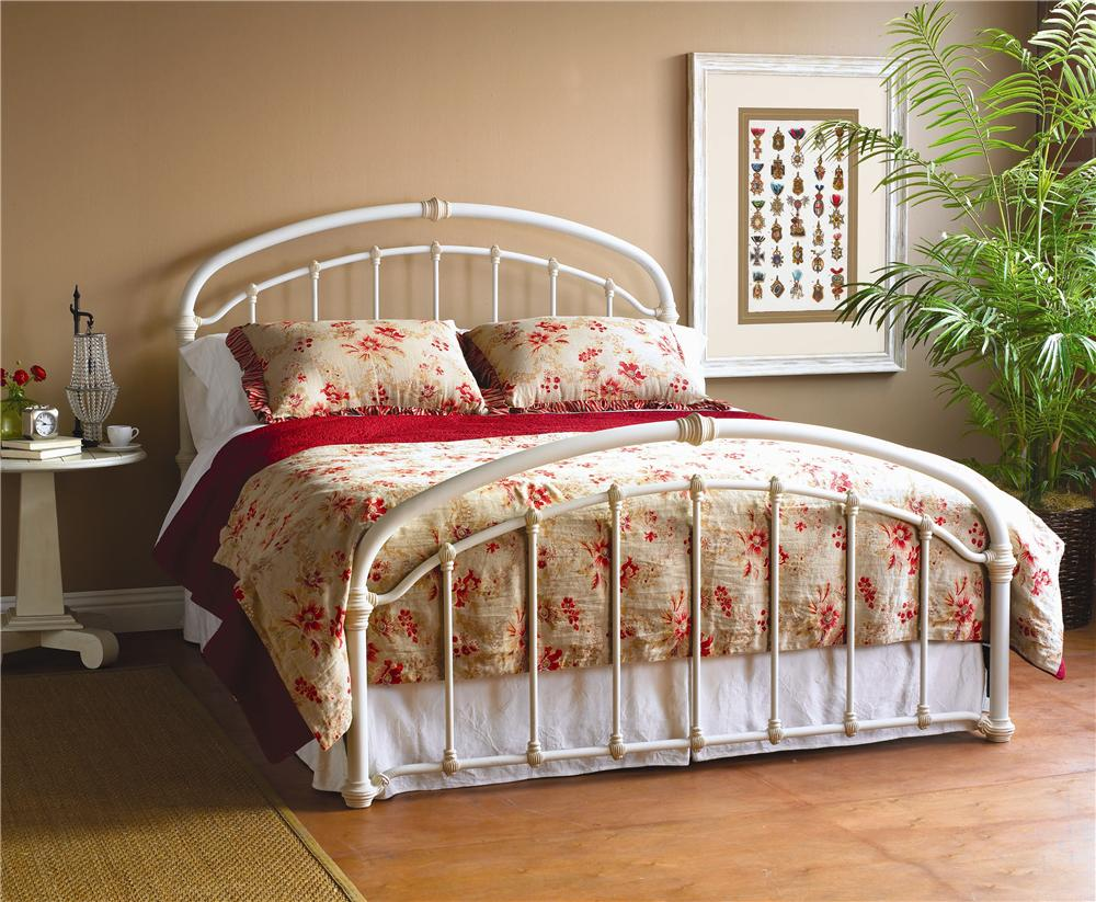 Wesley Allen Iron Beds King Birmingham Iron Bed - Item Number: CB1078K