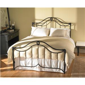 Morris Home Furnishings Iron Beds Queen Montgomery Iron Bed