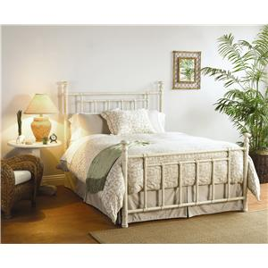 Morris Home Furnishings Iron Beds Queen Blake Poster Bed