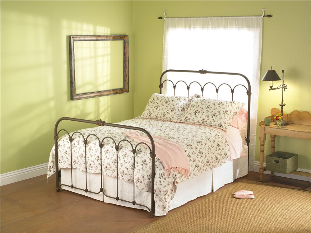 Wesley Allen Iron Beds Full Hillsboro Iron Bed - Item Number: CB1098F