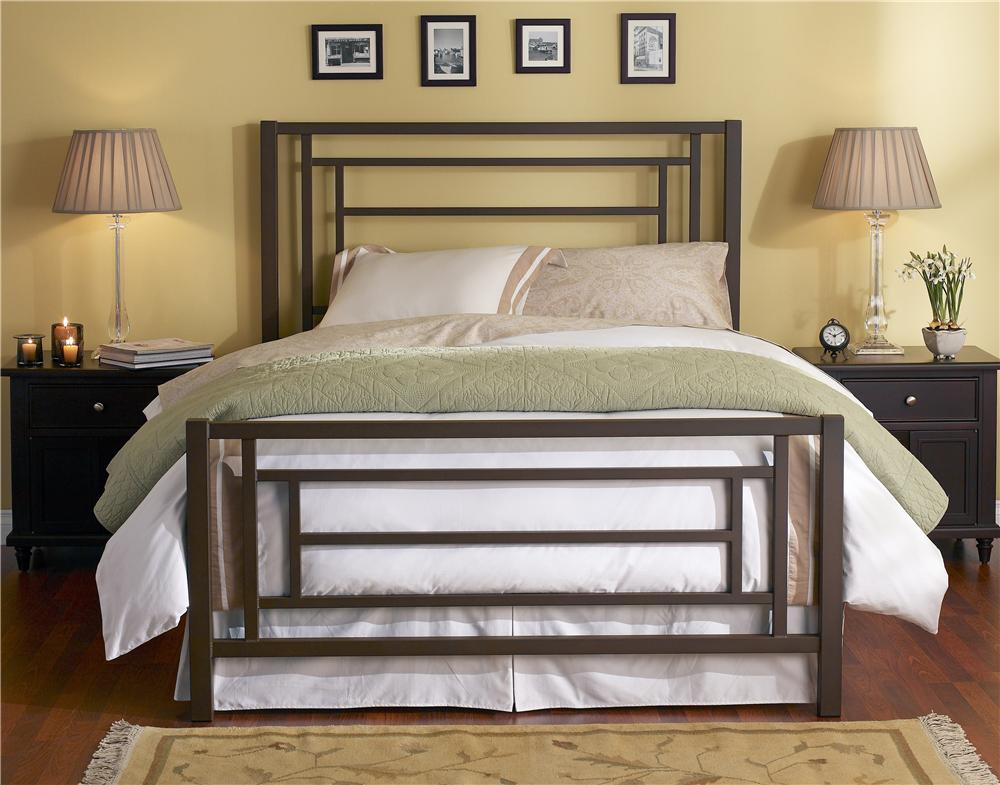 Wesley Allen Iron Beds Queen Sunset Iron Bed - Item Number: CB1320
