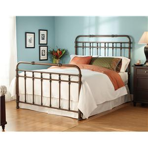 Morris Home Furnishings Iron Beds Queen Laredo Iron Bed