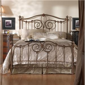 Wesley Allen Iron Beds King Olympia Bed
