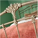 Morris Home Furnishings Iron Beds Merrick Iron Poster Bed