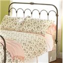 Morris Home Furnishings Iron Beds King Hillsboro Headboard - Item Number: HO1098K