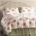 Morris Home Furnishings Iron Beds Full Coventry Headboard - Item Number: HO7160F